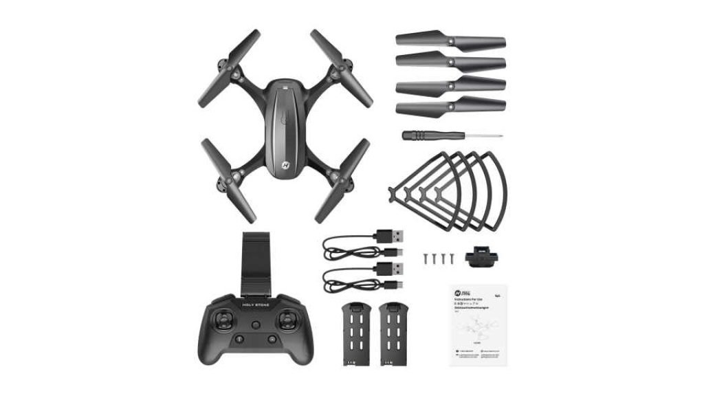 Holy Stone HS340 Drone Package Contents