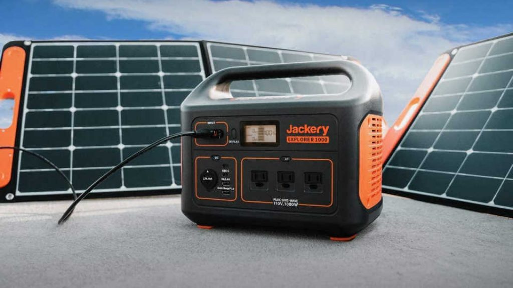 Jackery Portable Power Station Explorer 1000 MPPT Technology