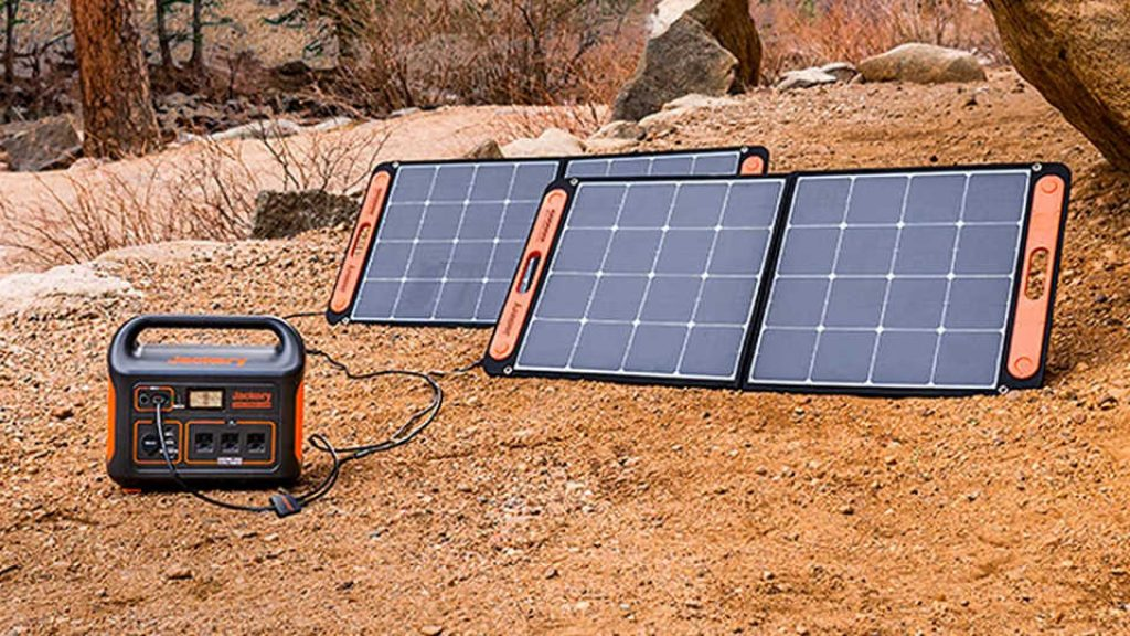 Jackery Portable Power Station Explorer 1000 SolarSaga