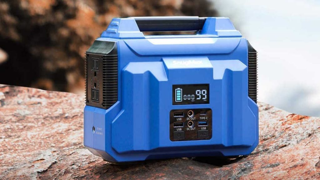 SnugMax Portable Power Station Vickers 200 Battery Powered
