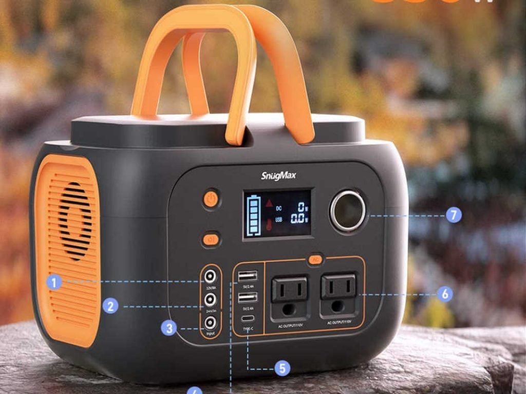 SnugMax Portable Power Station Vickers 350 Review